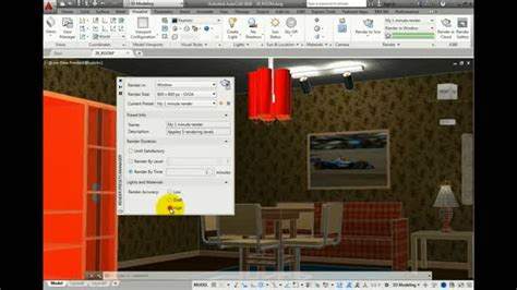 autocad 2007 3d tutorial render more than a pretty picture photorealistic rendering