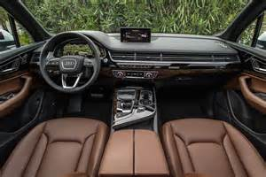 Audi Q7 Interior Dimensions New Audi Q7 2017 Look And Interior Changes Review
