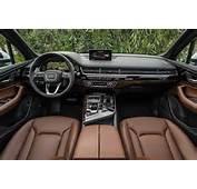 Audi Q7 Interior 2016 Pictures