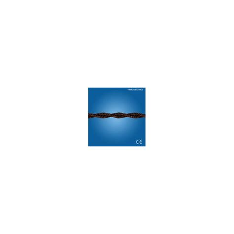 gambarelli illuminazione cavo a treccia in seta marrone 2x0 50 gambarelli 10301