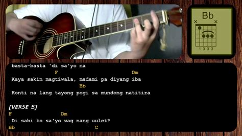 tutorial guitar simpleng tulad mo hayaan mo sila by ex battalion guitar chords tutorial