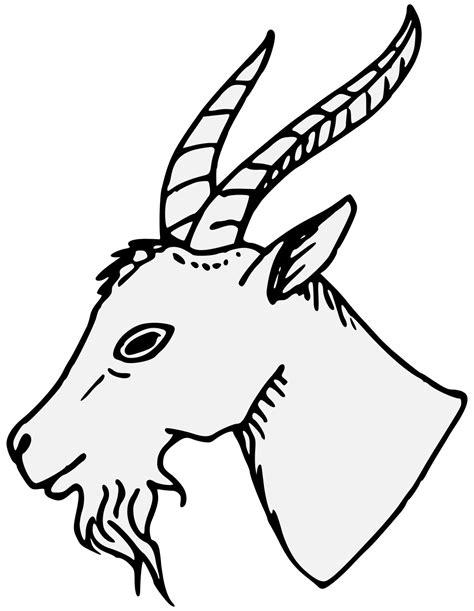 Clipart goat traceable, Clipart goat traceable Transparent