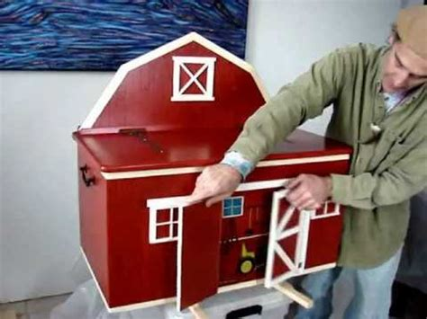 building  barn toy chest youtube