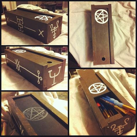 supernatural diy crafts supernatural crafts supernatural curse box by monteyroo artisan crafts woodworking 2013