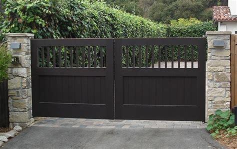 Home Exterior Gate Design Handmade Exterior Wood Gates By Adney Sons