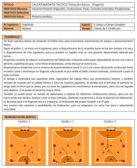 ejercicios futbol sala para ni os rotaci 243 n b 225 sica diagonal en f 250 tbol sala f 250 tbol en positivo
