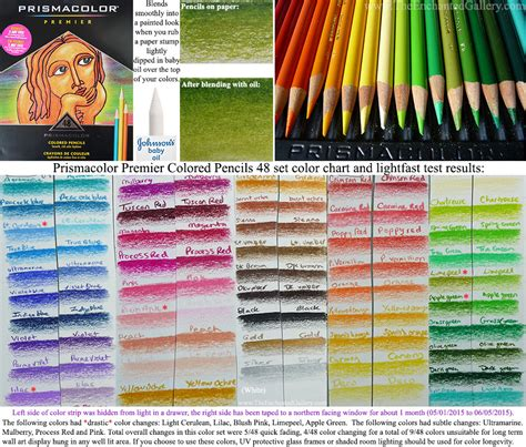 prismacolor premier colored pencils 48 prismacolor premier 48 set colored pencils color chart