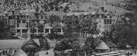 the cliff house at pikes peak the history of the cliff house hotel the cliff house