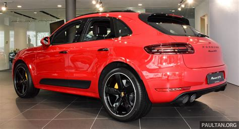 porsche malaysia porsche macan gts launched in malaysia rm710k image 509977