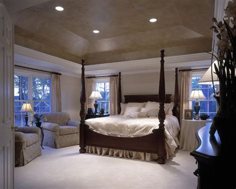 master bedroom with tray ceiling shenandoah model