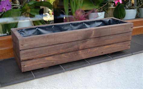 vasi in legno per piante sottovaso in legno per piante e fiori da balcone o terrazzo