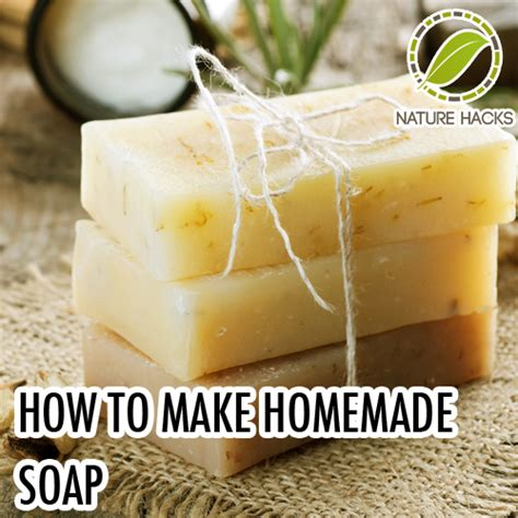 How To Make Handmade Soap Organic - how to make soap