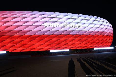 allianz arena beleuchtung neue led beleuchtung der allianz arena m 252 nchen