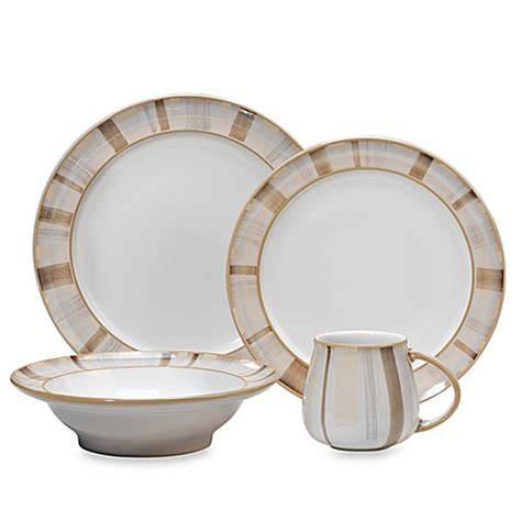 bed bath beyond dishes denby truffle layers dinnerware bed bath beyond