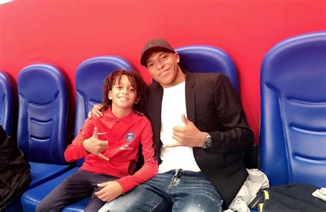 kylian mbappe debut kylian mbapp 233 s 12 year old brother just scored on his