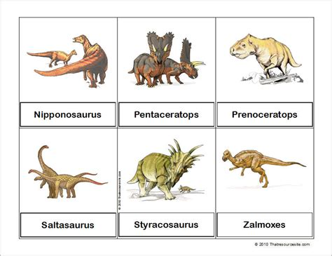 printable dinosaur postcards 6 best images of printable dinosaur pictures with names