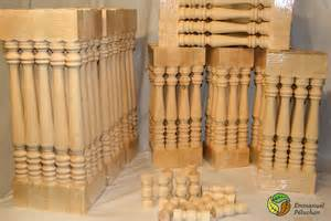 wood turned balusters emmanuel p 233 luchon