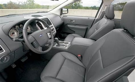 Interior Ford Edge by Car And Driver