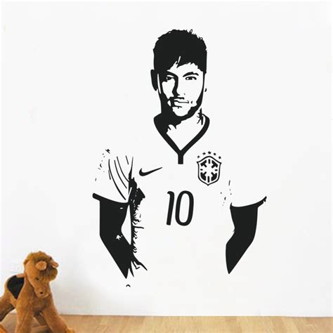 home decor posters home decor posters sports footballer wall stickers pvc