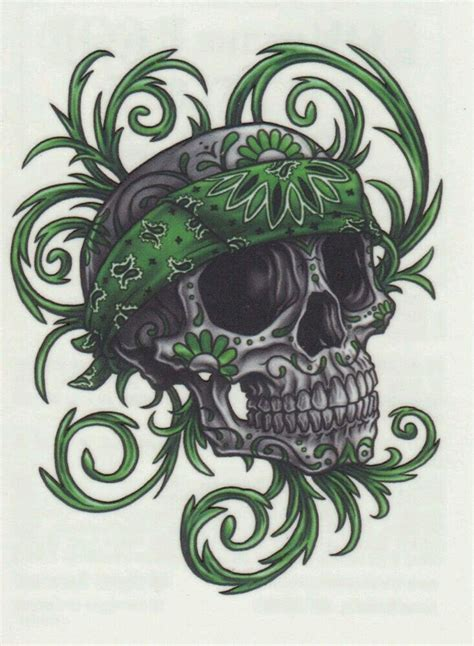skull bandana tattoo designs 1002 best skulls by guillermo images on