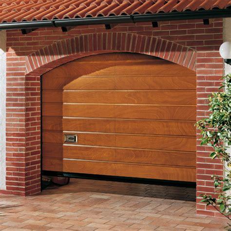 porte sezionali ballan porta sezionale oregon con pannellatura in legno ballan