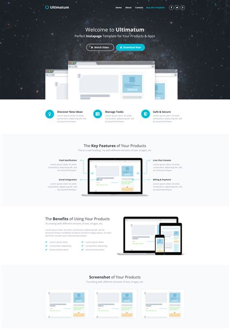 Instapage 15 Latest Landing Page Templates For Marketing Free Instapage Templates