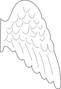 angel wing clip art at clker com vector clip art online