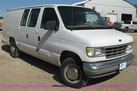 how does cars work 1994 ford econoline e250 lane departure warning 1994 ford econoline e250 van no reserve auction on wednesday june 12 2013