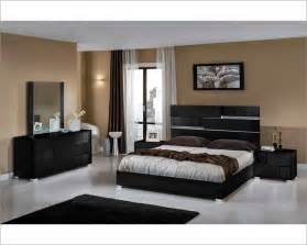 Black Bedroom Sets Contemporary Italian Black Bedroom Set 44b111set