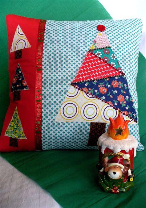 patchwork natal almofadas de natal 60 ideias de decora 231 227 o e como fazer