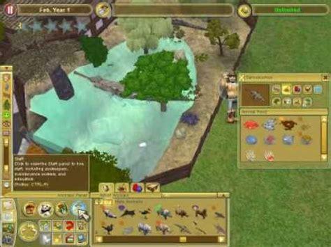 film seri zoo zoo tycoon 2 giant croc exhibit youtube