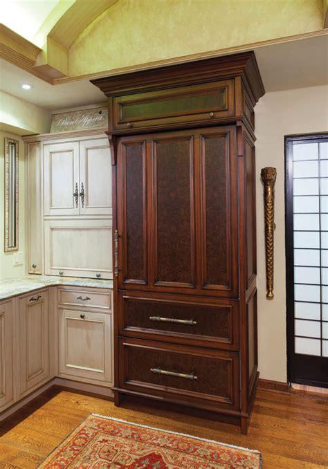 armoire refrigerator kitchen appliances photos