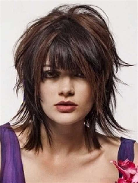 2015 summer hairstyles women over 50 15 cool shaggy bob with bangs bob hairstyles 2015