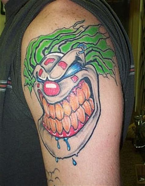 joker teeth tattoo clown tattoo pictures