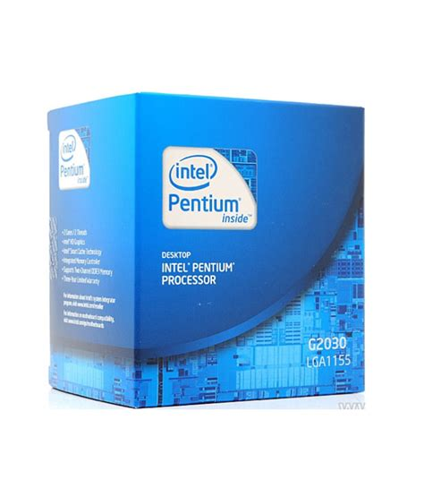 Processor Intel Dual G2030 3 0ghz Tray With Fan intel g2030 pentium dual processor g2030 3 0ghz 3mb lga 1155 cpu buy from shopclues