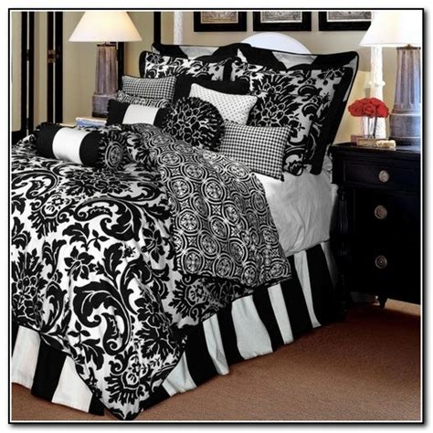 black bedding sets full black and white bedding sets full size beds home