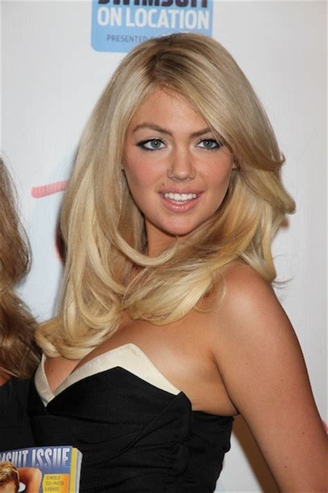 what is kate upton natural hair color kate upton hairstyles for round faces