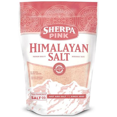 himalayan salt ls wholesale himalayan bath salt 25 lbs san francisco bath salt co