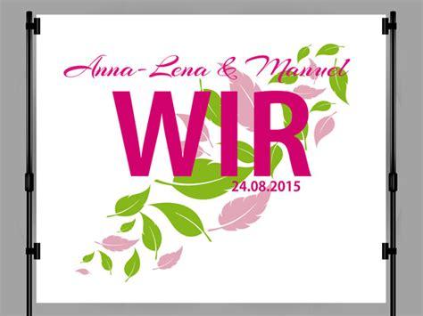 Hochzeit Namen by Photo Booth Hintergrund Mit Wandtattoos Selbst Gestalten