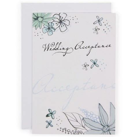 Best 25  Wedding acceptance card ideas on Pinterest