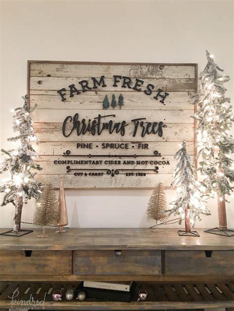 farm fresh christmas trees sign pinteres