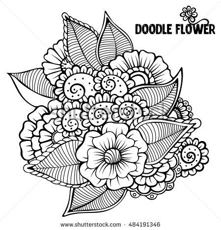 gogh coloring book grayscale coloring for relaxation coloring book therapy creative grayscale coloring books flower doodle vector stock vector 376744327