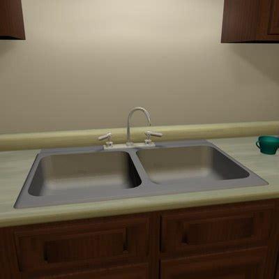 kitchen sink model free kitchen sink 3d model