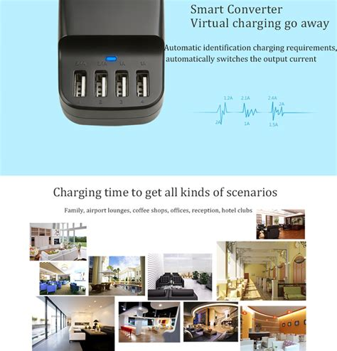 hotel ls with usb ports 4 port usb charger station ls 4ud