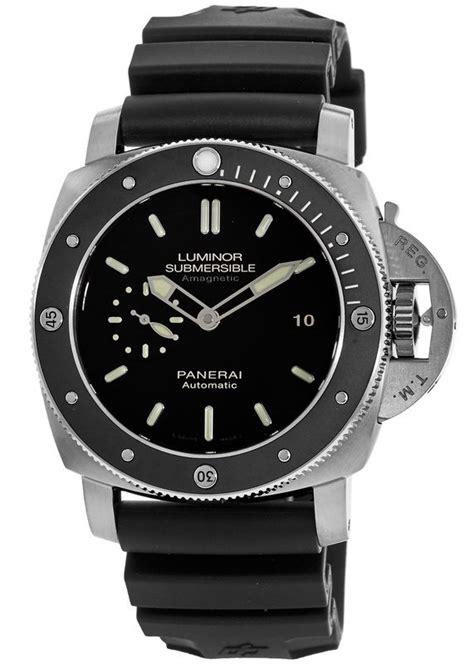 Terlaris Luminor Panerai Submersible Silver Rubber panerai pam00389 luminor 3 days s watchmaxx
