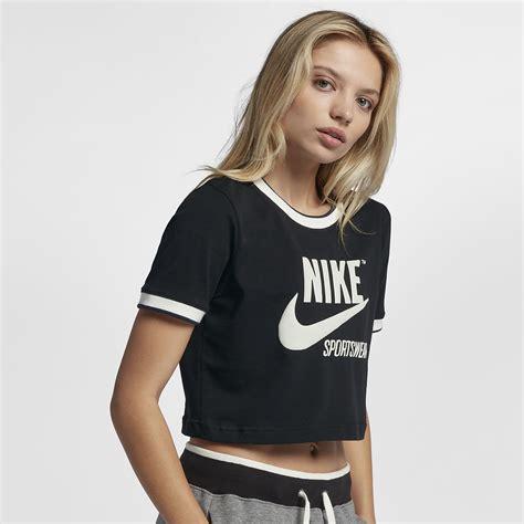Crop Shirt nike sportswear archive s crop top nike