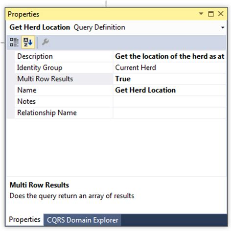 query design definition cqrs designer codeproject
