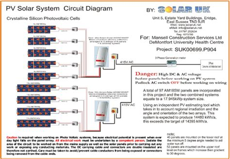 solar photovoltaic panels array wiring diagram get free