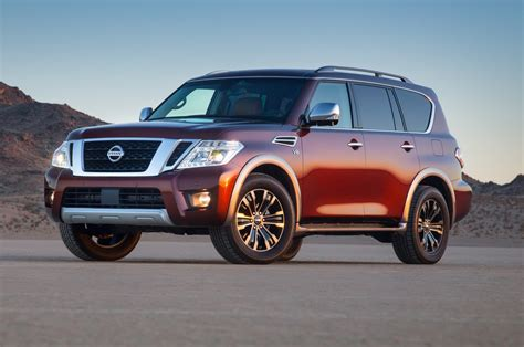 nissan armada 2017 nissan armada reviews and rating motor trend