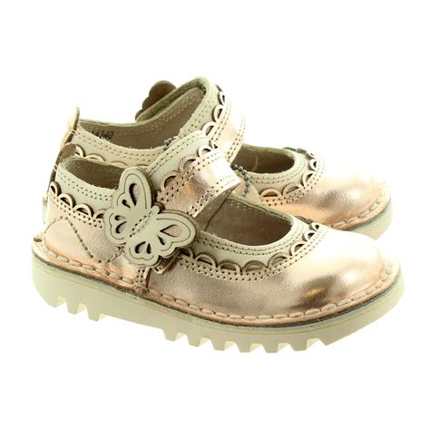 kickers toddler sandals kickers kick doli bar shoes in gold in gold